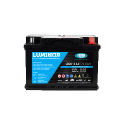 BATTERIA LUMINOR 12Volt LDCG12-L3