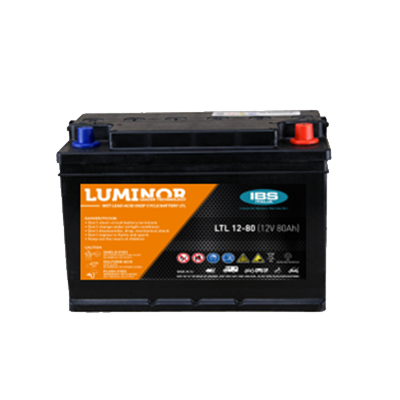 BATTERIA LUMINOR 12Volt LTL-12-80
