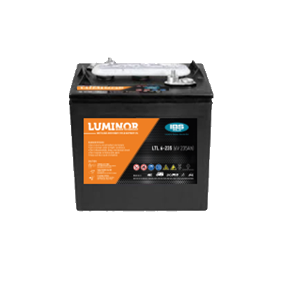 BATTERIA LUMINOR 6Volt LTL-6-235