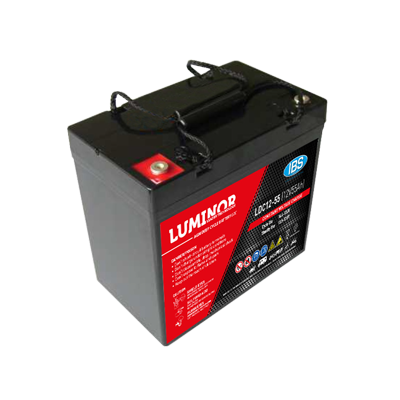 BATTERIA LUMINOR 12Volt LDC12-55
