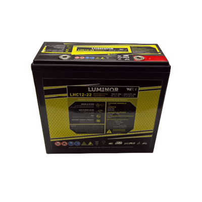 BATTERIA LUMINOR 12Volt LHC12-22