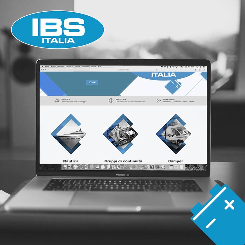 Nuovo sito web IBS Batterie