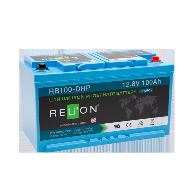 BATTERIA RELION 12Volt RB100-DH