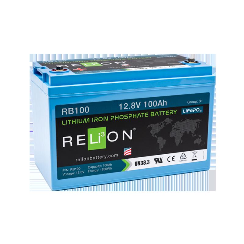 BATTERIA RELION 12Volt RB100