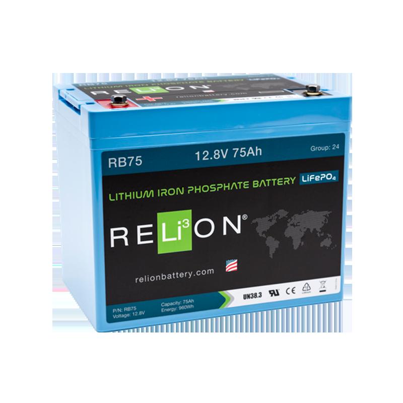 BATTERIA RELION 12Volt RB75