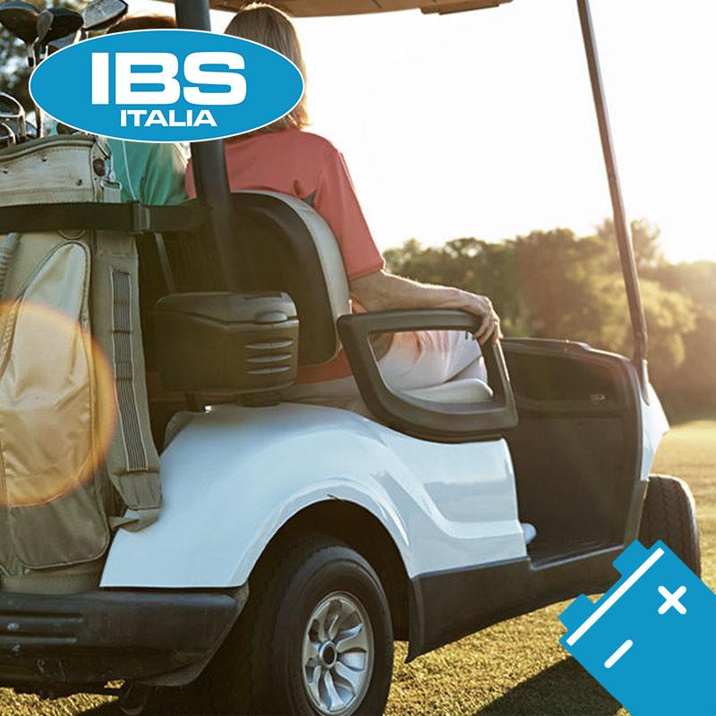 IBS ITALIA seleziona una nuova gamma di monoblocchi per Golf Car.