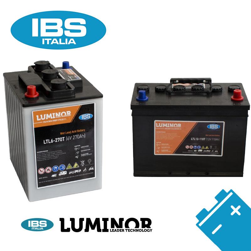 Batterie IBS-Luminor: espressione concreta del nostro impegno.