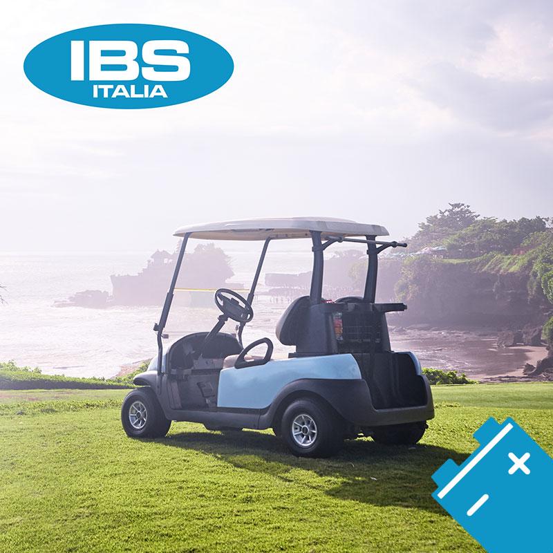 Ad ogni Golf car la sua batteria: IBS batterie Italia è il fornitore ideale.